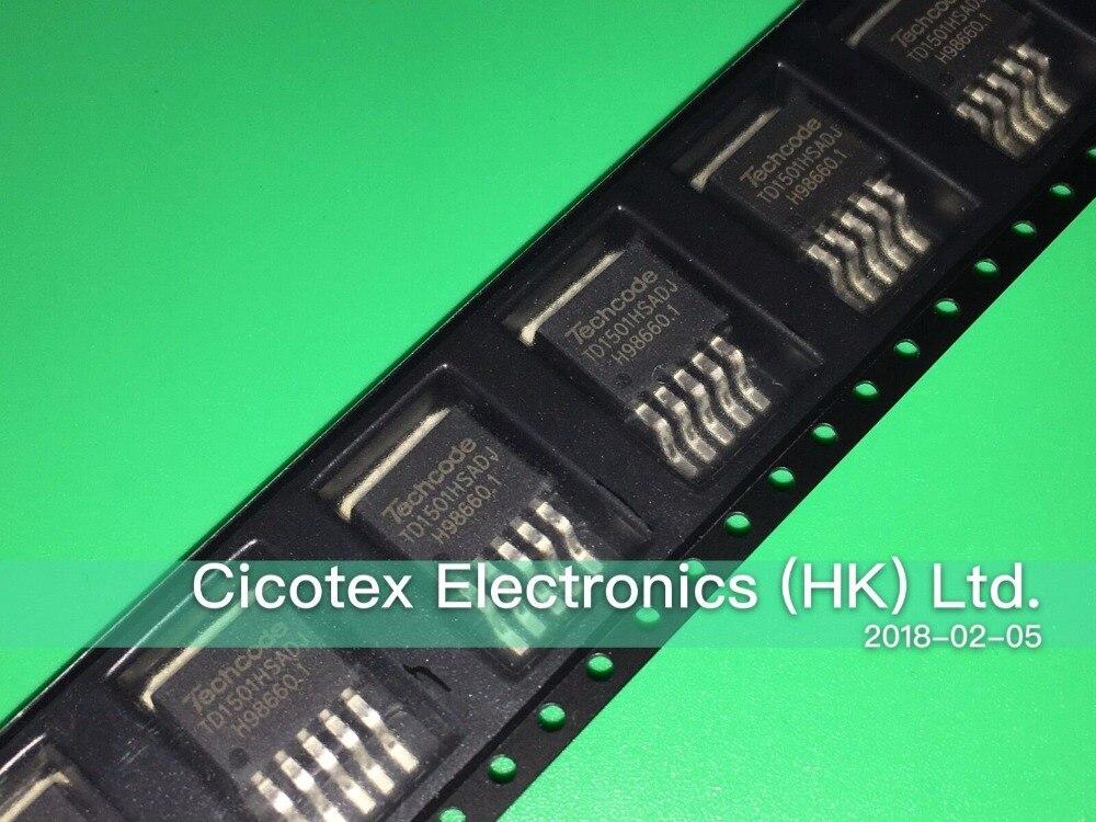 5pcs/lot TD1501HSADJ TO263-5 PWM BUCK DC/DC CONVERTER TD1501HS-ADJ TD1501H-ADJ TD1501-ADJ D2PAK