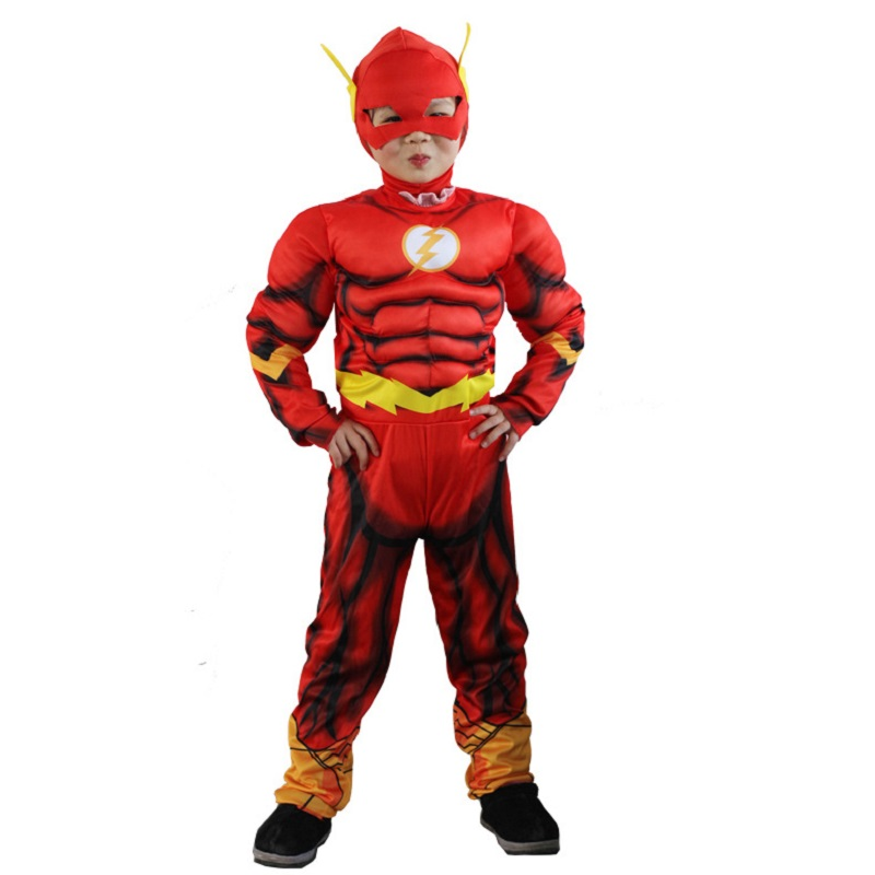 Hulk  Boys Kids 3pc Muscle Costume Set Halloween Party Dress Up Outfit Fancy