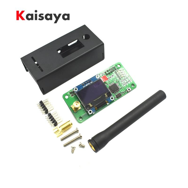 UHF VHF MMDVM hotspot OLED Antenna Case Support P25 DMR YSF for Raspberry pi A10 001