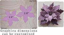 handmade flower -6 wood moulds die cut accessories wooden die Regola Acciaio Die Misura (MY   ) кардиган acciaio