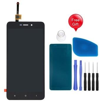 Voor xiaomi Redmi 4A 5 inch Lcd Touch Screen Digitizer Vergadering Vervanging voor Hongmi 4A Display met Gratis Gift geen Frame