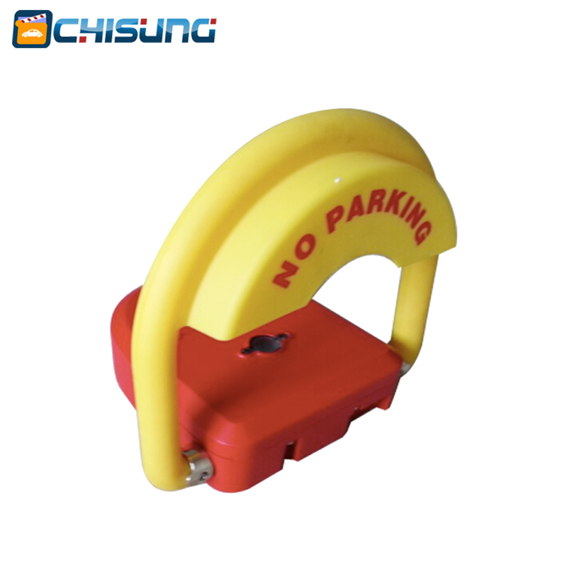 Parking position lock &remote parking lock & Parking space lock & Parking barrier half ring shape of the block machine parking barrier lock