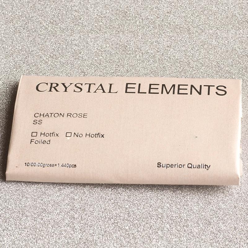 YANRUO 2028HF SS16 1440Pcs AB rhinestone Flatback Strass Crystal - Umjetnost, obrt i šivanje - Foto 6