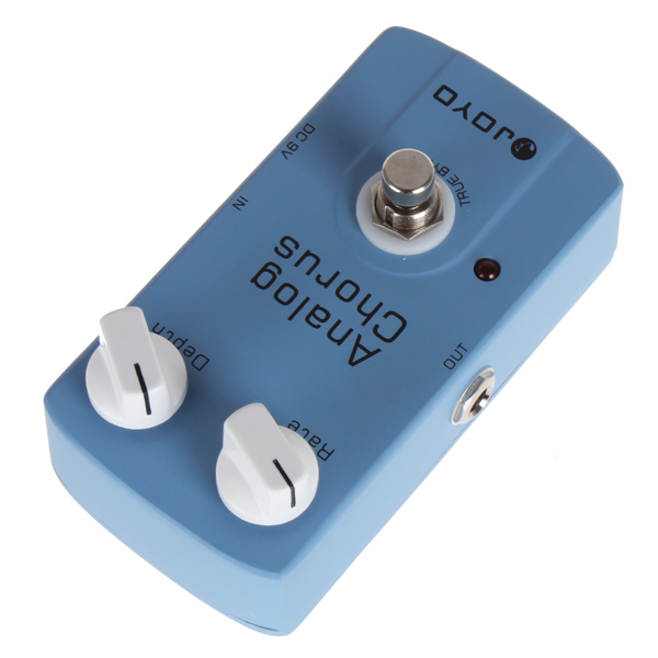 JOYO JF-37 Analog Chorus Electric Guitar Audio Effect Pedal Box True Bypass Musical Instrument Guitar Accessories