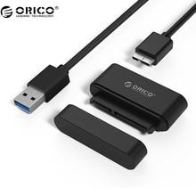ORICO Micro B/Тип c SATA жесткий диск адаптер USB3.0 SSD SATA Кабель-адаптер конвертер супер Скорость USB 3.0 на SATA 22 Булавки