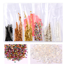 T-TIAO CLUB Manicure Nail Art Glitter Sequins Powder Shining Holographic Effect Colorful Decoration