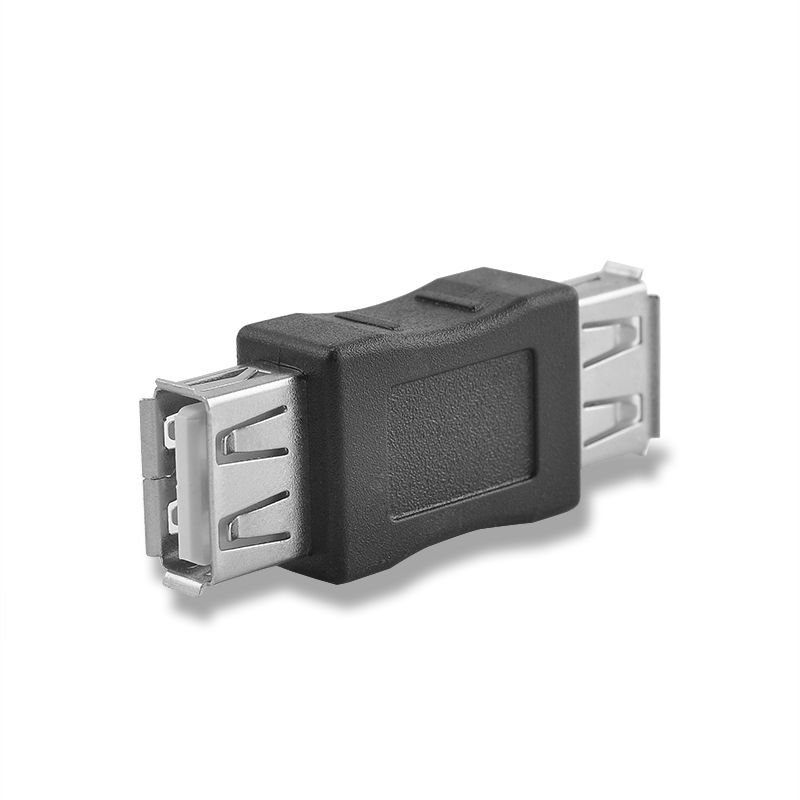 1pc USB 2.0 Connectors 4.5cm A Female To A Female Adapter Converter Coupler Connector