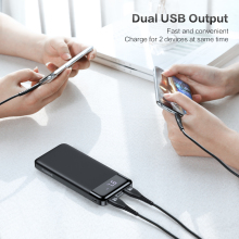 Portable Quick Charging Powerbank with Dual USB Ports