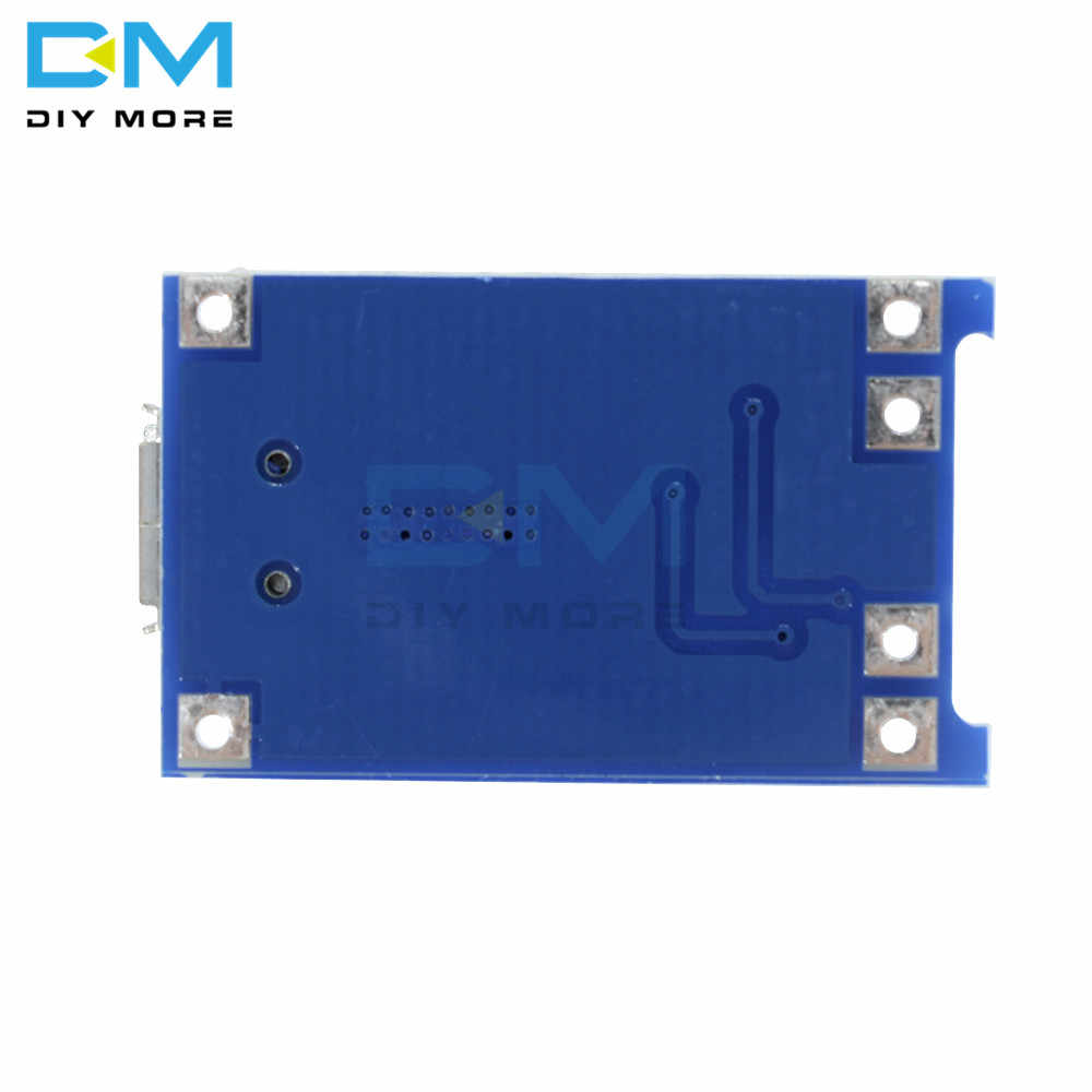 1 sztuk Micro USB 5V 1A 18650 TC4056A moduł ładowarki baterii litowej płytka ładująca z ochroną podwójne funkcje BMS