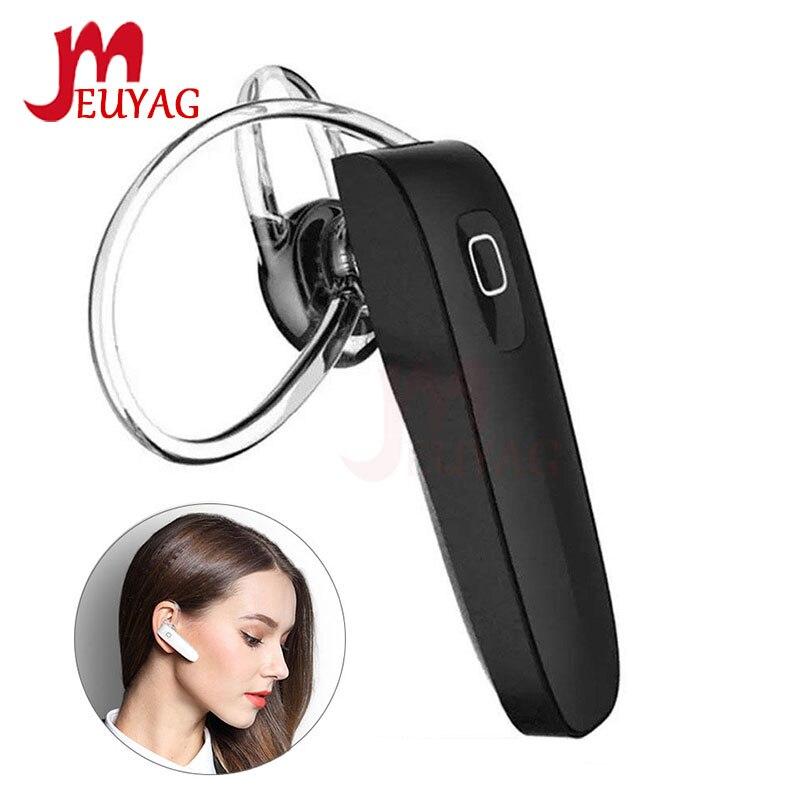 MEUYAG B1 беспроводные Bluetooth наушники мини стерео гарнитура с микрофоном громкой связи вызова спортивные наушники для iPhone samsung