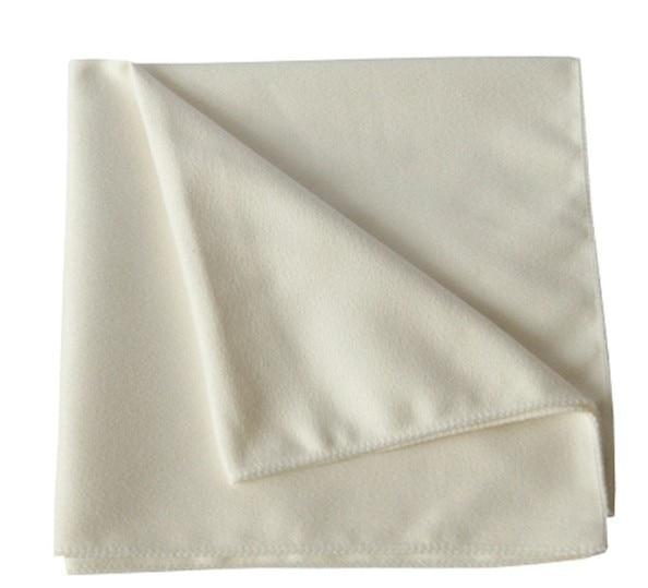 Free Shipping ETA Pure White Watch Wipe Cloth 25 24cm