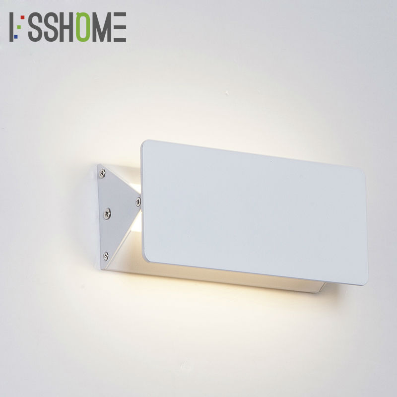 [VSSHOME] 5W 10W 15W LED Wall Lamps Dimmable Modern Bedroom Decoration Indoor Lighting Living Room Corridor Lamp AC90-260V [ygfeel] 21w led wall light creative bedroom wall lamp indoor living room foyer decoration corridor stair lighting ac90 260v