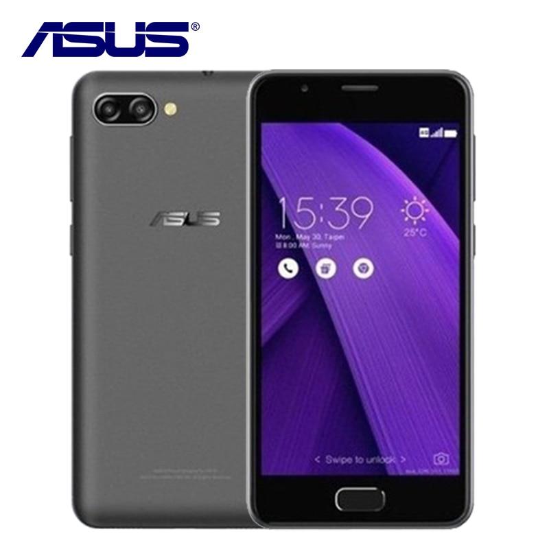 2017 Новый Asus Zenfone 4 Max Peg ASUS 4A zb500tl 3 ГБ Оперативная память 32 ГБ Встроенная память 4 ядра 5 дюймов Android 7.0 4100 мАч 4 г LTE 13MP мобильного телефона