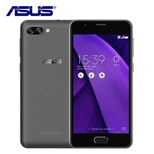 2019 NEW ASUS ZenFone 4 Max Pegasus 4A ZB500TL 3GB RAM 32GB ROM Quad Core 5 inch Android 7.0 4100mAh 4G LTE 13MP Mobile Phone