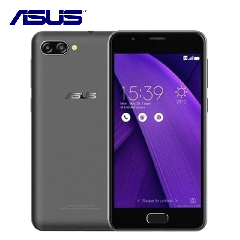 2017 NEW ASUS ZenFone 4 Max Pegasus 4A ZB500TL 3GB RAM 32GB ROM Quad Core 5 inch Android 7.0 4100mAh 4G LTE 13MP Mobile Phone