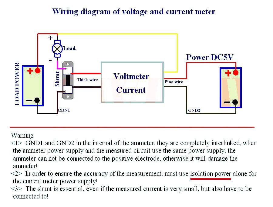 Auto Motorrad DC 12-24V Dual LED Digital Voltmeter Amperemeter Amp Volt Meter TS