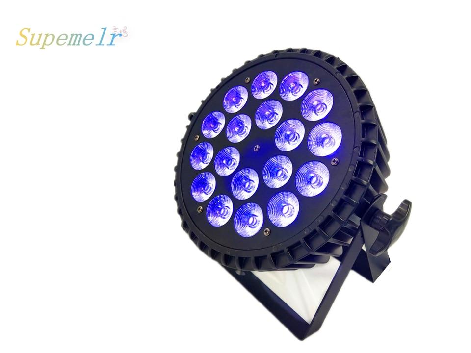 luzes do palco para a iluminacao cor cheia led wash par 03