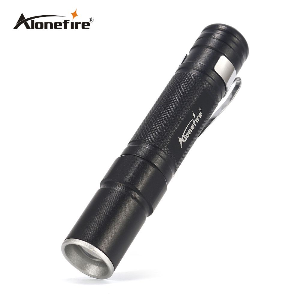 AloneFire MN22 Portable Mini Penlight CREE 2000LM LED Flashlight Torch Pocket Light Waterproof Lantern AAA Battery Powerful Led free shipping tank007 e10 cree r3 flashlight led pocket clip medical light torch penlight aaa flashlight penlight medical