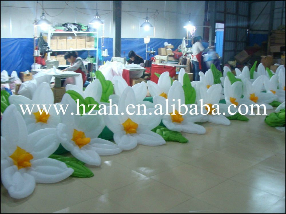2018 Inflatable Flower Chain For Party Decoration