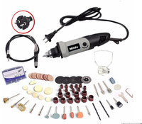 Milda 400W 94PCS Accessories Mini Electric Drill With 6 Position Variable Speed For Dremel Rotary Tools