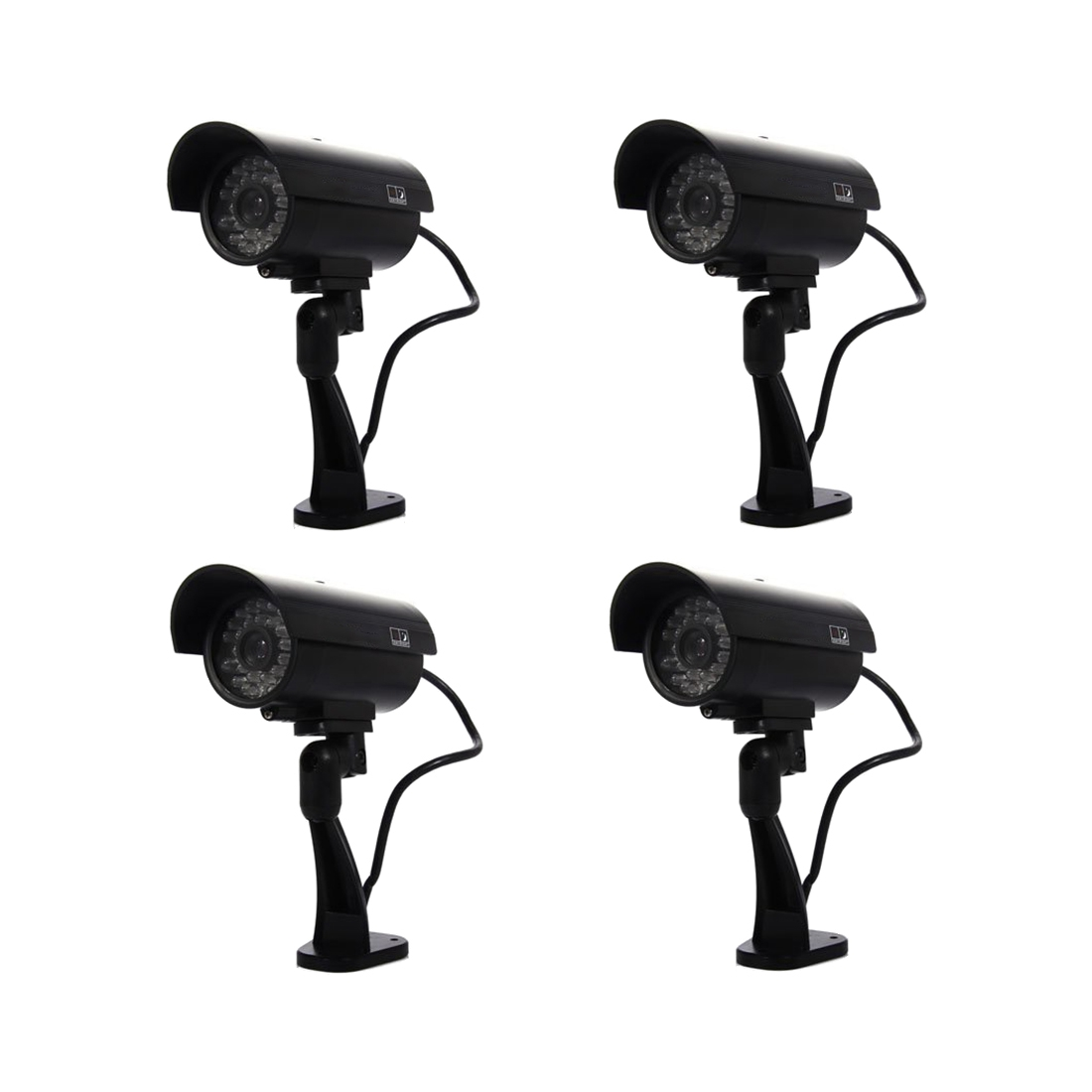 Security Surveillance fake Dummy IR LED cameras - Night/Day Vision Look Bullet CCD CCTV Imitation Dummy Camera Black 1 3 ccd waterproof surveillance security camera with 42 led night vision white dc 12v