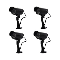 Security Surveillance fake Dummy IR LED cameras Night/Day Vision Look Bullet CCD CCTV Imitation Dummy Camera Black