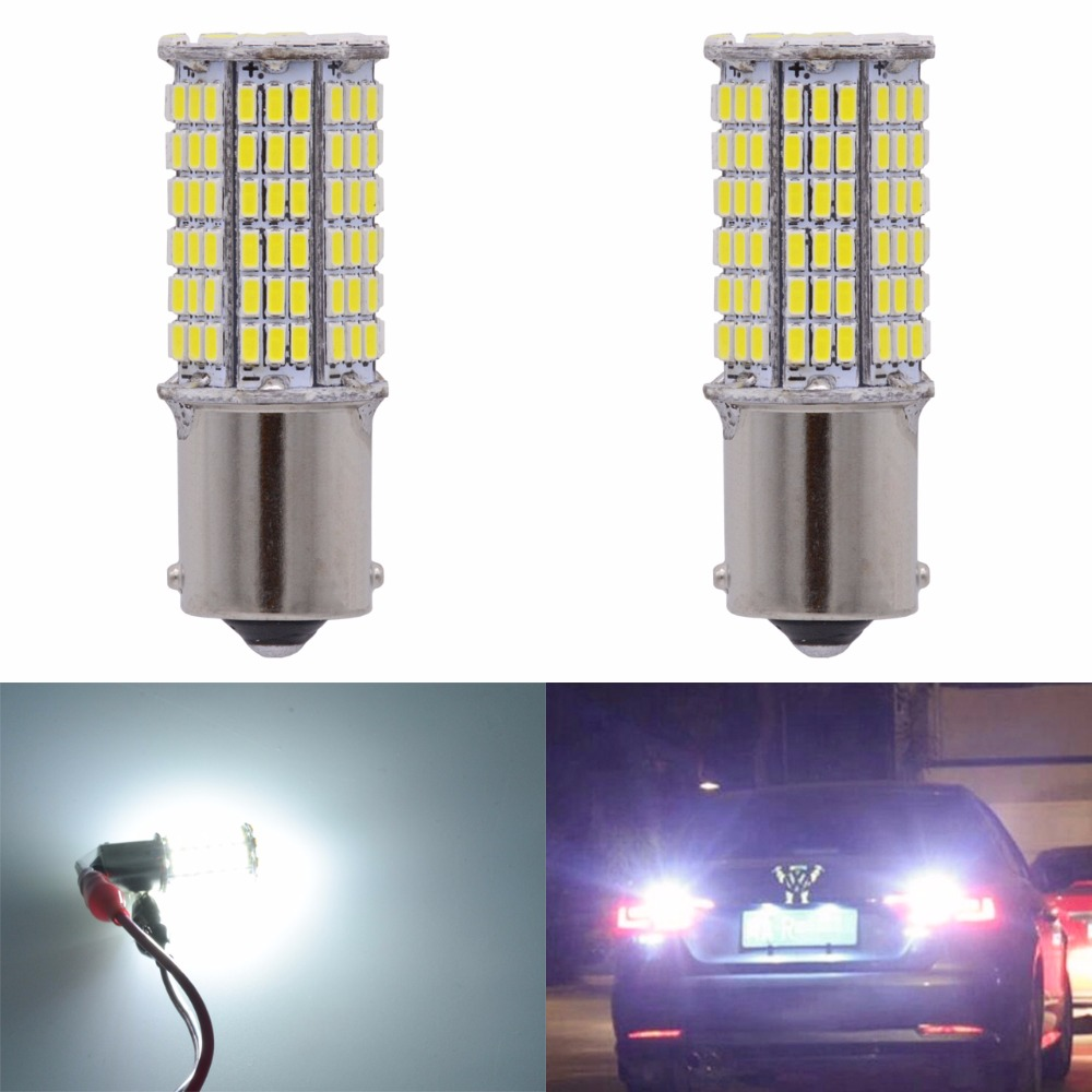 Super White 1156 BA15S 1141 1003 7506 3014 144SMD LED Bulb CanBus Erro Free Turn Signal Back Up Reverse Brake Tail RV Light magnat quantum 1003 s white