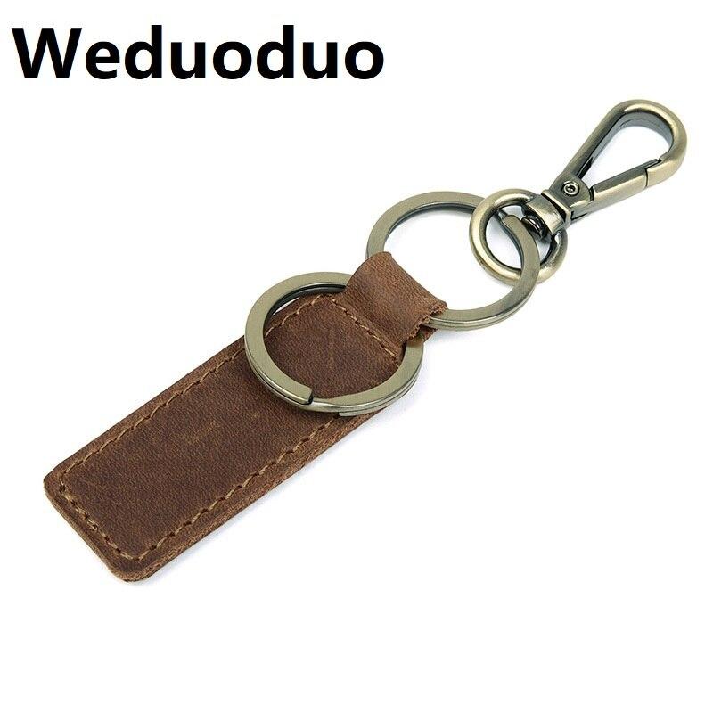 Wholesale Fashion Metallic Key Wallets Keychain Luxury Genuine Leather Key Organizer Holder Mini Men Car Key Holder Dropshipping in Key Wallets from Luggage Bags