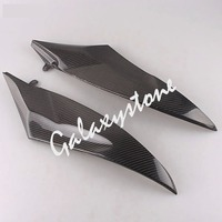 Carbon Fiber Tank Side Covers Panel Fairing for Yamaha YZF R6 2006 2007 06 07 Motorcycle Side Lining