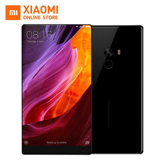 """Оригинал Xiaomi Mi Смешивания Pro Мобильного Телефона 6 ГБ 256 ГБ Snapdragon 821 Quad Core FDD LTE 6.4 """"2040x1080 P FHD С Эффектом Бесконечности, Дисплей 4300 мАч"""