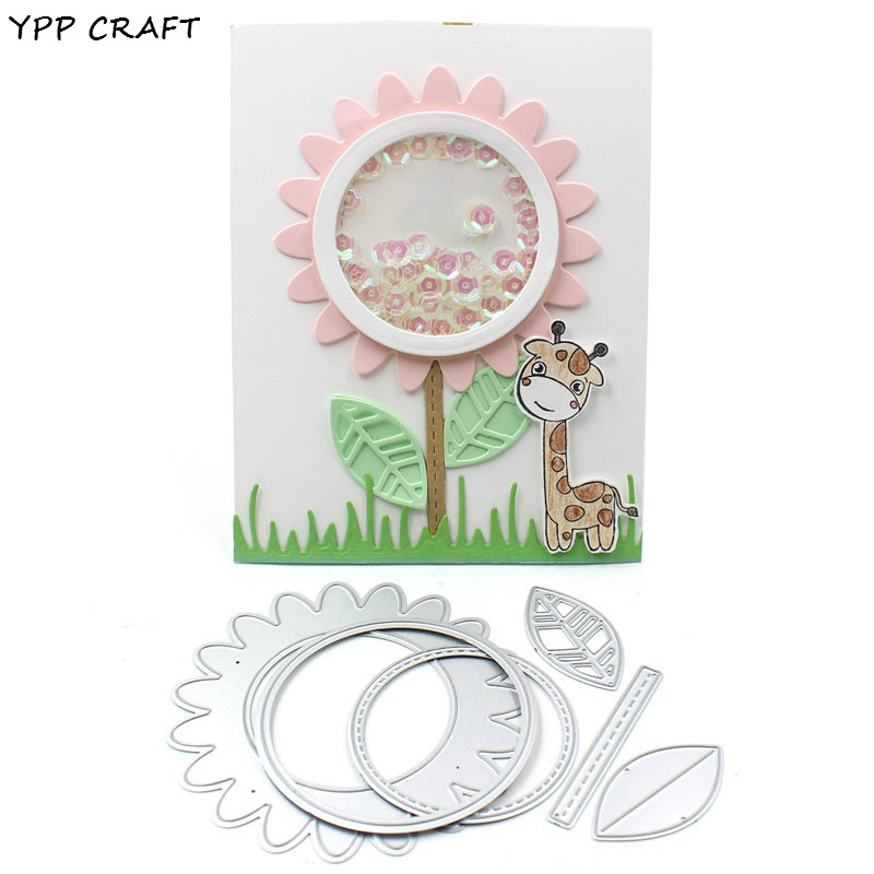 YPP CRAFT Flower Decorative Embossing