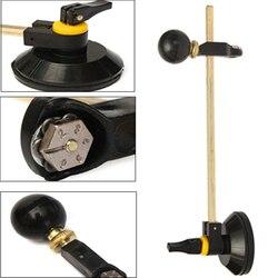 1 قطعة دائرة القاطع مع الالتصاق دائرة الزجاج Cutter40cm المهنية 6 مرقمة عجلات البوصلات الزجاج