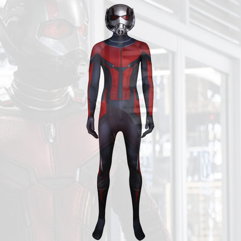 Ant Man and the Wasp Cosplay men and kids Costume Ant Man