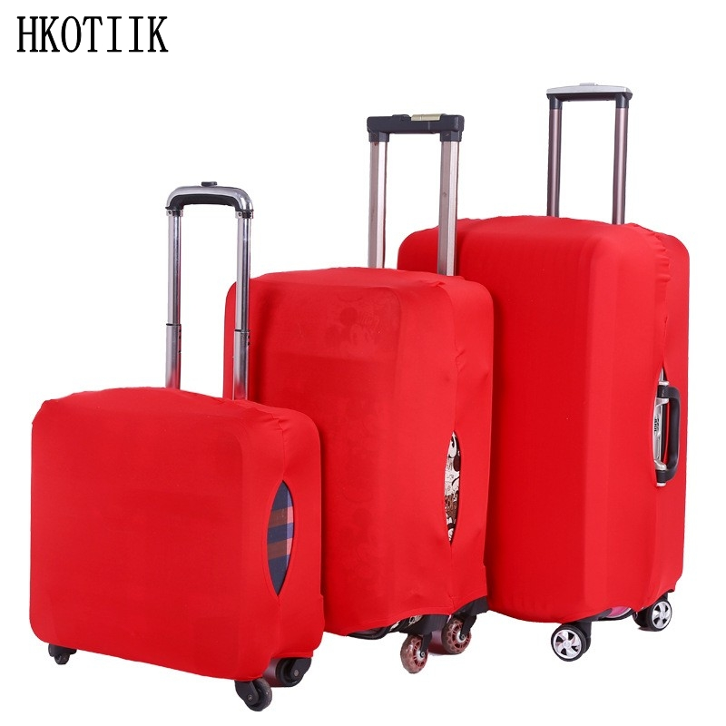 Popular fashion travel suitcase protective case suitcase cover Trolley case travel baggage elastic dust cover 18 to 28 inches