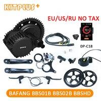 Bafang мотор 36 В 250 Вт 350 Вт 500 Вт 48 В 750 Вт 1000 Вт BBS01 BBS02 BBSHD BBS03 электродвигателя DIY Ebike комплект Электрический велосипед Conversion Kit