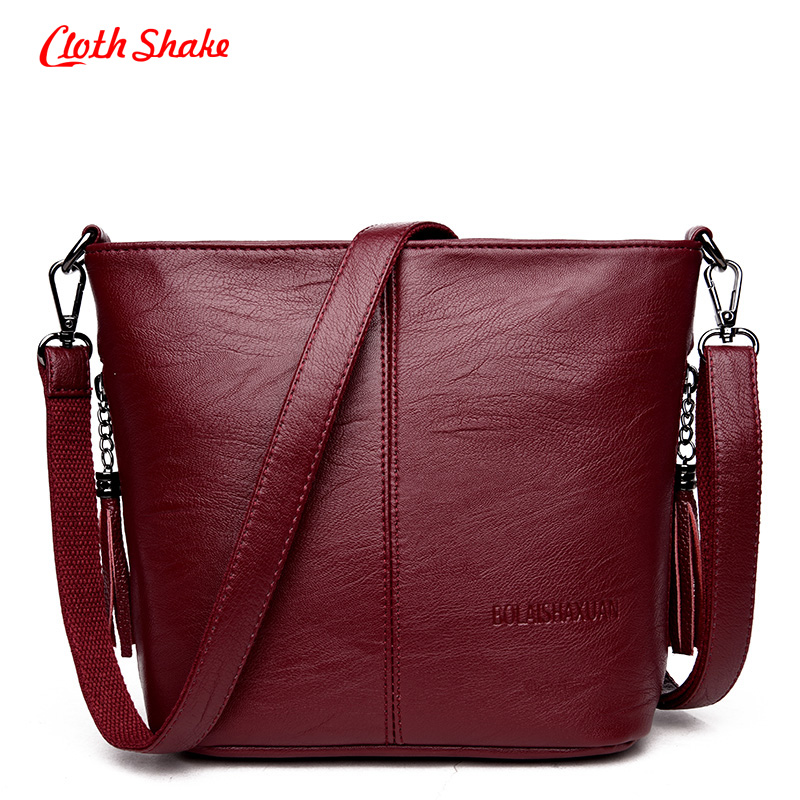 Summer New Fashion High Quality Women Messenger Bags Shoulder Microfiber Synthetic Leather Bag Tassel Women Solid Crossbody Bags  new arrive women leather bag fashion zipper handbag high quality medium solid shoulder bag summer women messenger bag