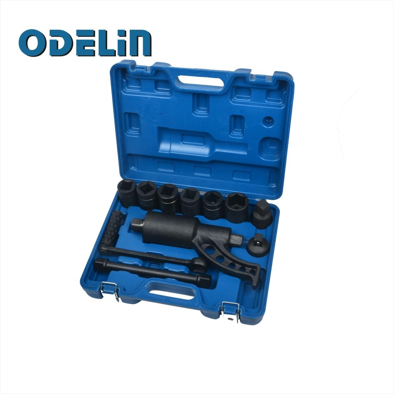 Truck Wheel Lug Nut Wrench Impact Sockets Hand Torque Multiplier Tire Tools Kit