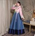 Корейский ханбок Невеста Корейский народный танец костюм Корейской традиционной одежды Традиционная одежда