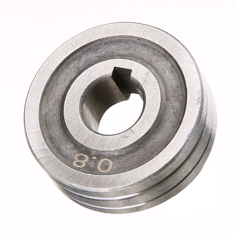 Durable 0.6*0.8 MIG Roller Steel Precision Welder Wire Feed Drive Roller Roll Parts Kunrled-Groove .030