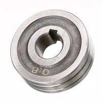 "Durable 0,6*0,8 MIG Roller Stahl Präzision Schweißer Draht Feed Stick Roller Rolle Teile Kunrled-Nut. 030 ""-. 035 ""30mm OD Mayitr"
