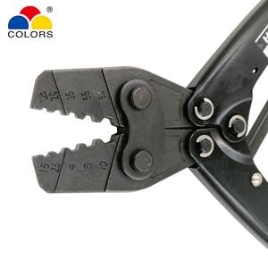 Image 4 - HX 10 di piegatura pinza per terminali non isolati (tipo esagonale) stile giapponese capacità 1.5 10mm2 15 7AWG utensili elettrici