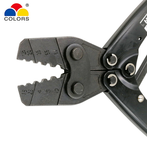 Image 4 - HX 10 обжимные плоскогубцы для неизолированных клемм (шестигранного типа) японский стиль емкость 1,5 10 мм2 15 7AWG электрические инструменты