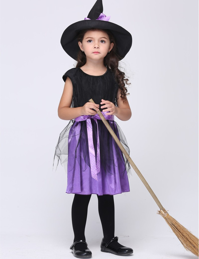 Popular Halloween Witch Costumes for Kids-Buy Cheap Halloween ...