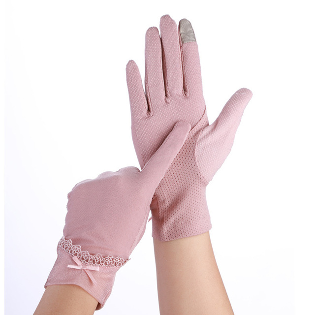 Pink Women Gloves Touch...