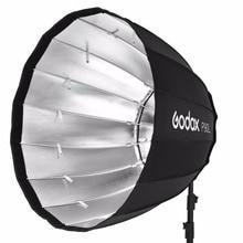 In Stock Godox Portable P90L 90CM Deep Parabolic Softbox Bowens Mount Studio Flash Speedlite Reflector Photo Studio Softbox