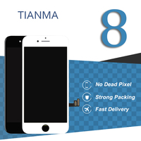 5pcs 4 7 Inch For IPhone 8 LCD Touch Screen Tianma Quality Black White Display Digitizer