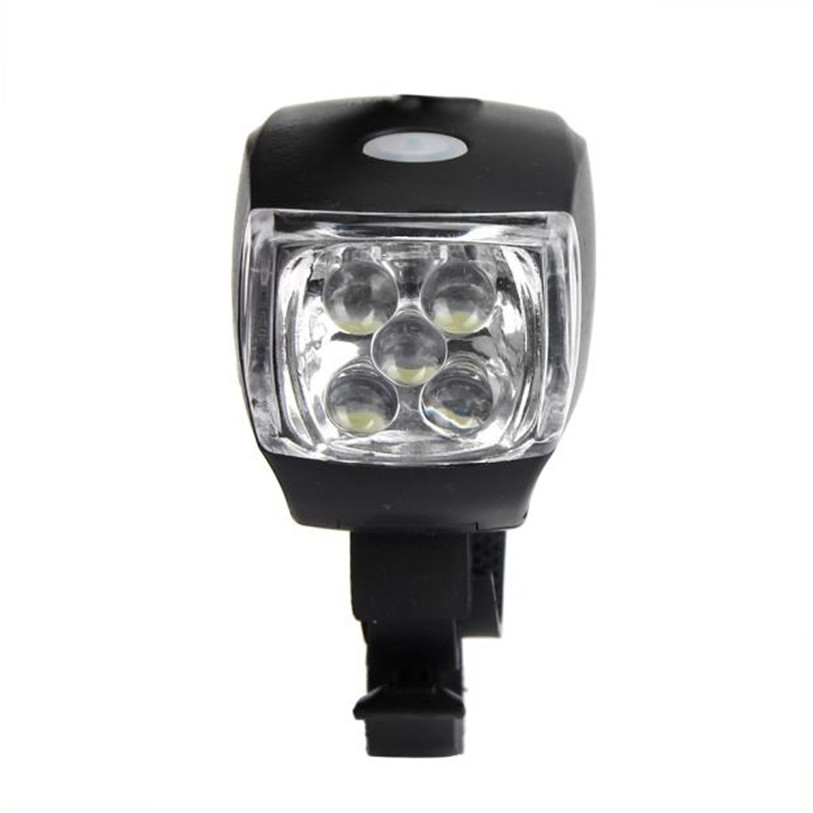 New Cycling Bike Bicycle Super Bright 5 LED Front Head Light Lamp 3-Modes Torch Outdoor Bike Bicycle Cycling Accessories Mar 1