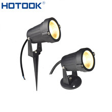 HOTOOK Lawn Lamps DC12V 5W LED Garden Lights IP65 Waterproof Spike Base For Outdoor Patio Path Lighting Landscape Decoration(China)