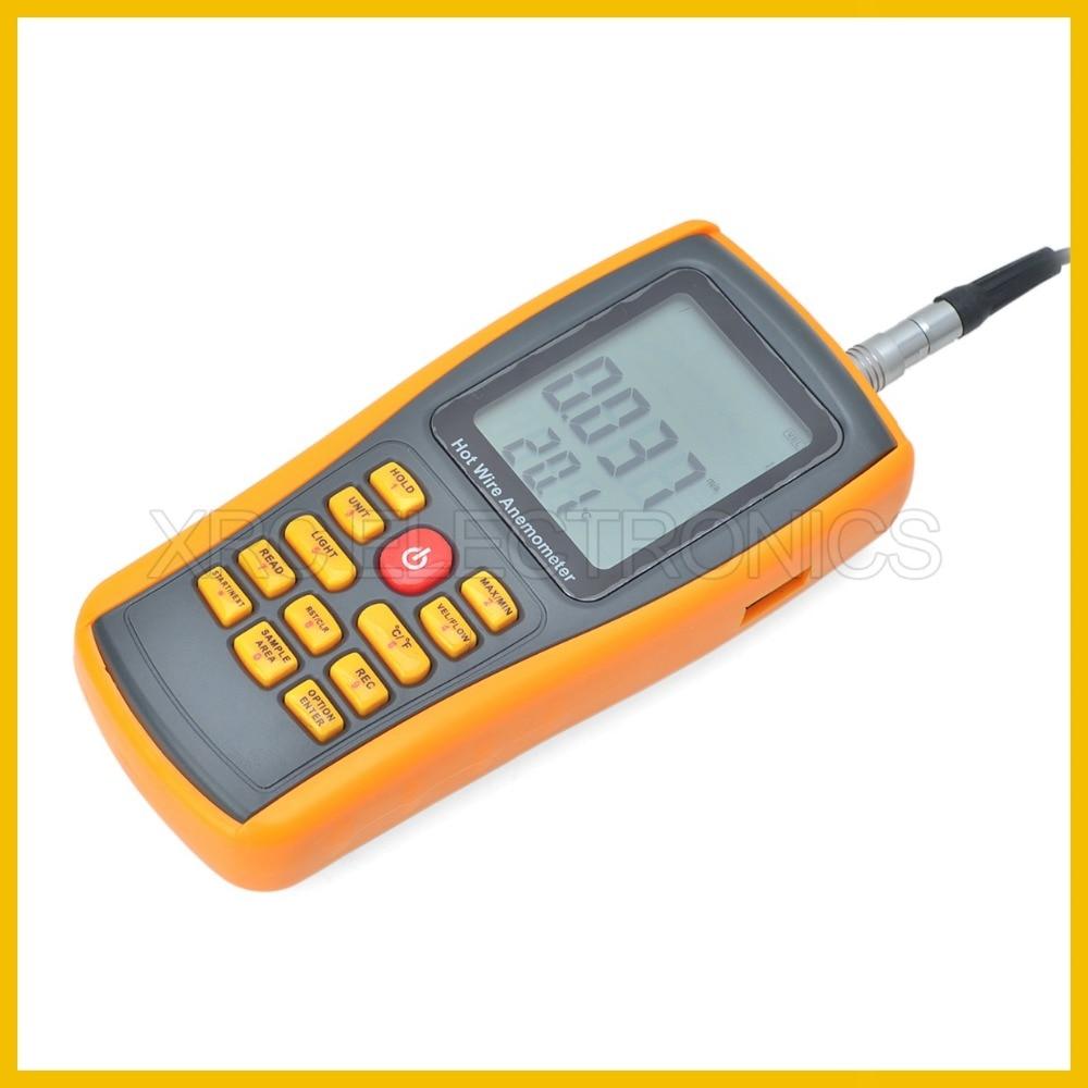 RZ GM8903 Anemometro Misuratore di velocità del vento Misurazione - Strumenti di misura - Fotografia 4