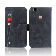 Hot! Elephone M3 Case High quality flip leather phone bag cover case for Elephone M3 with Front slide card slot стоимость